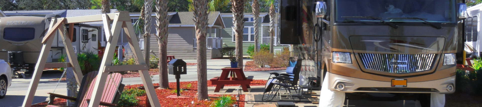 Carrabelle Beach RV Resort Accommodations