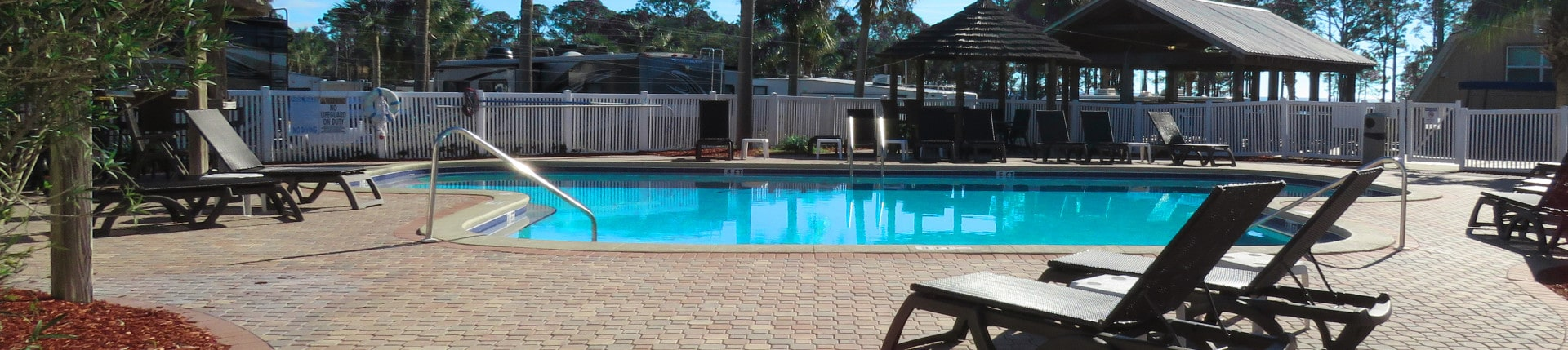 Carrabelle Beach RV Resort Pool