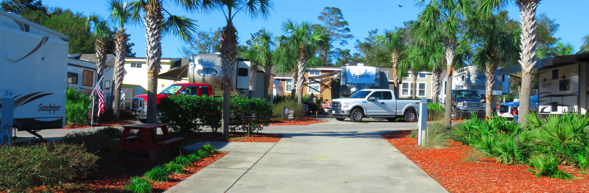 Carrabelle Beach RV Resort Sites