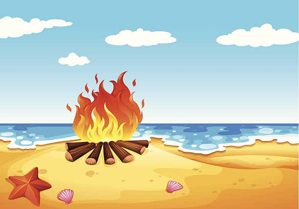 campfire-clipart-beach-bonfire-15